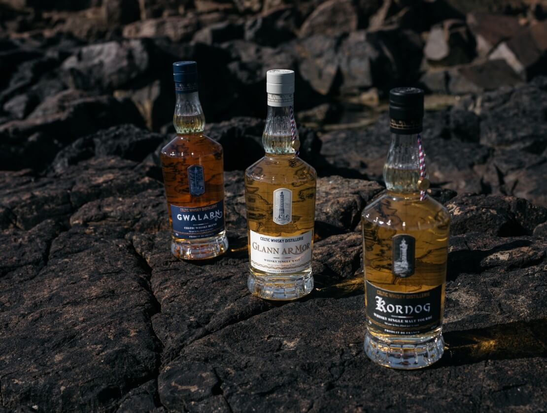 Celtic Whisky Distillerie's three expressions
