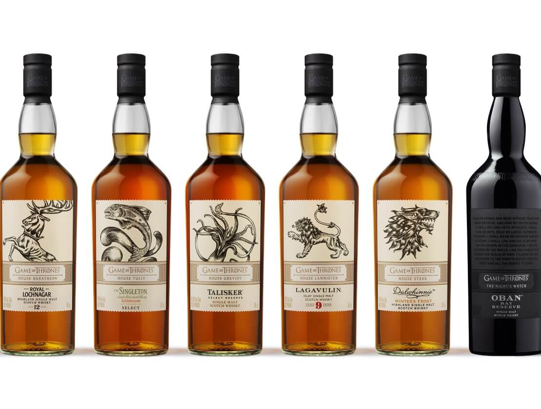 Game of Thrones inspired single malt whisky collection available for pre-order