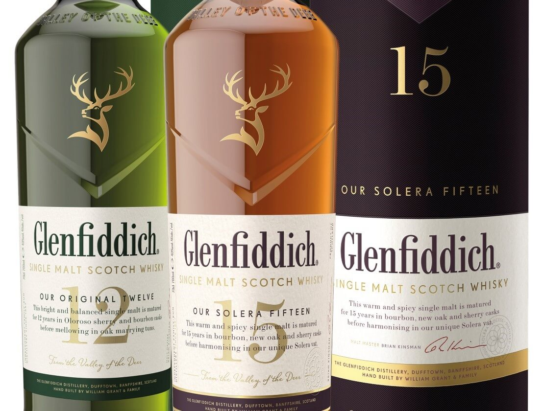 Glenfiddich's new clothes