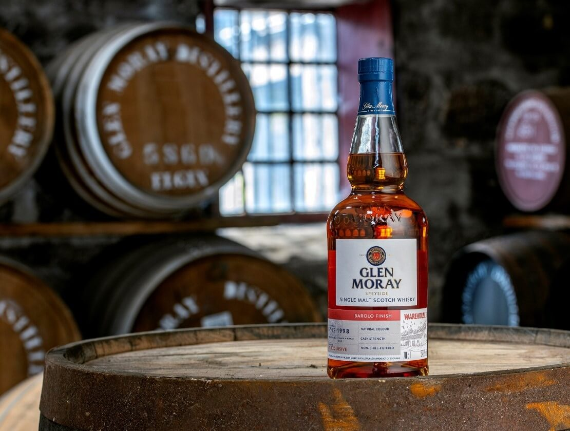 Glen Moray's new 1998 Barolo Finish is second 'Warehouse 1' exclusive for 2021