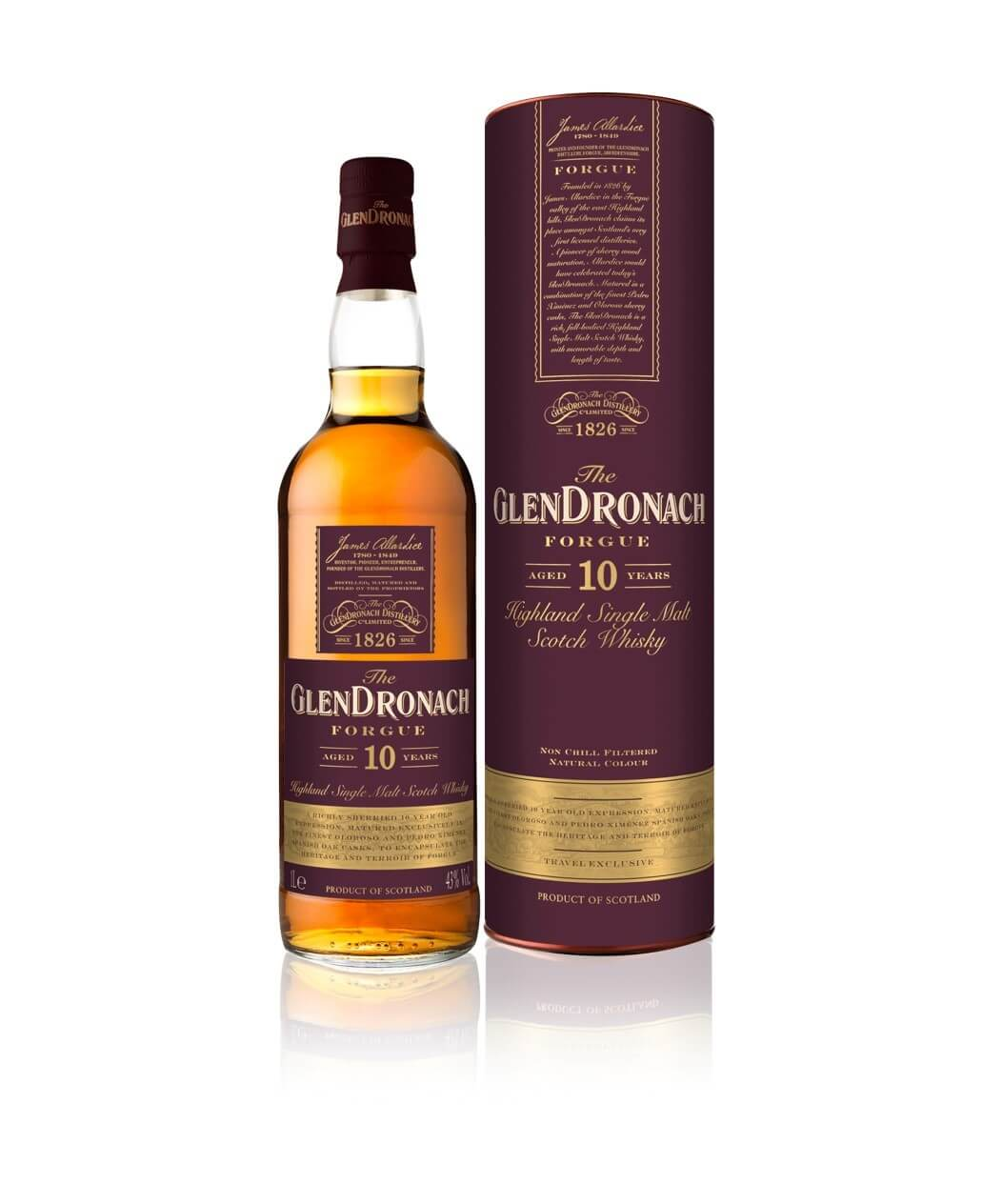 GlenDronach Forgue Aged 10 Years