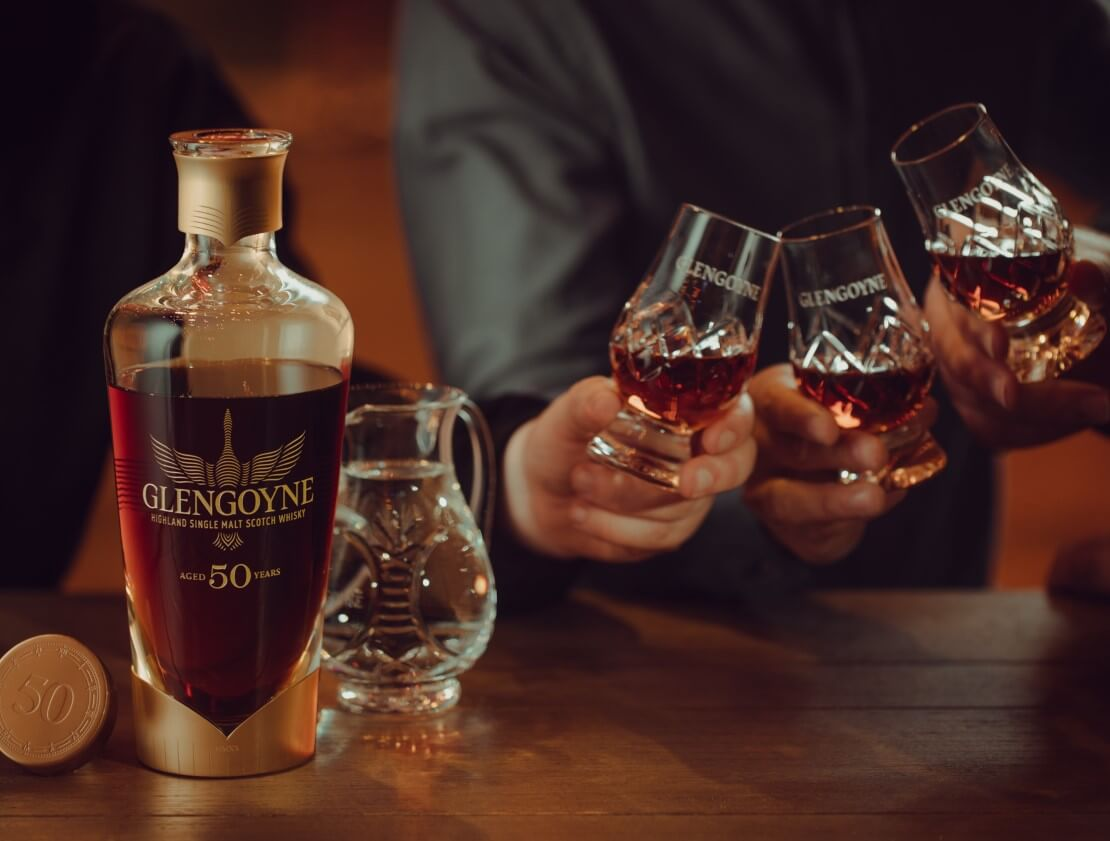 Glengoyne will give away a decanter of 50-year-old whisky worth £22,500