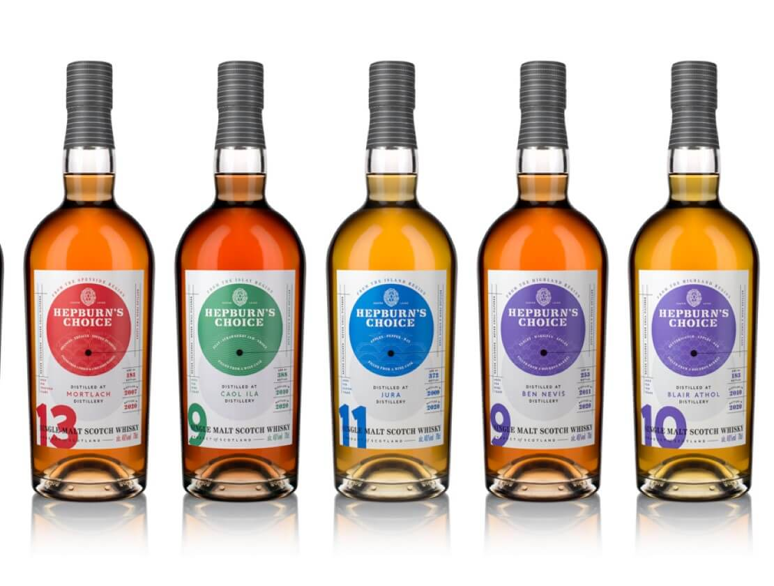 Hunter Laing & Co. unveils re-brand for Hepburn's Choice