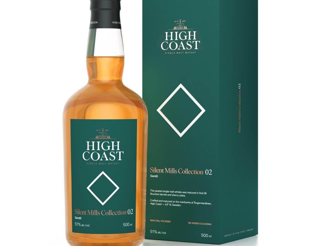 High Coast Whisky announces second release in Silent Mills series