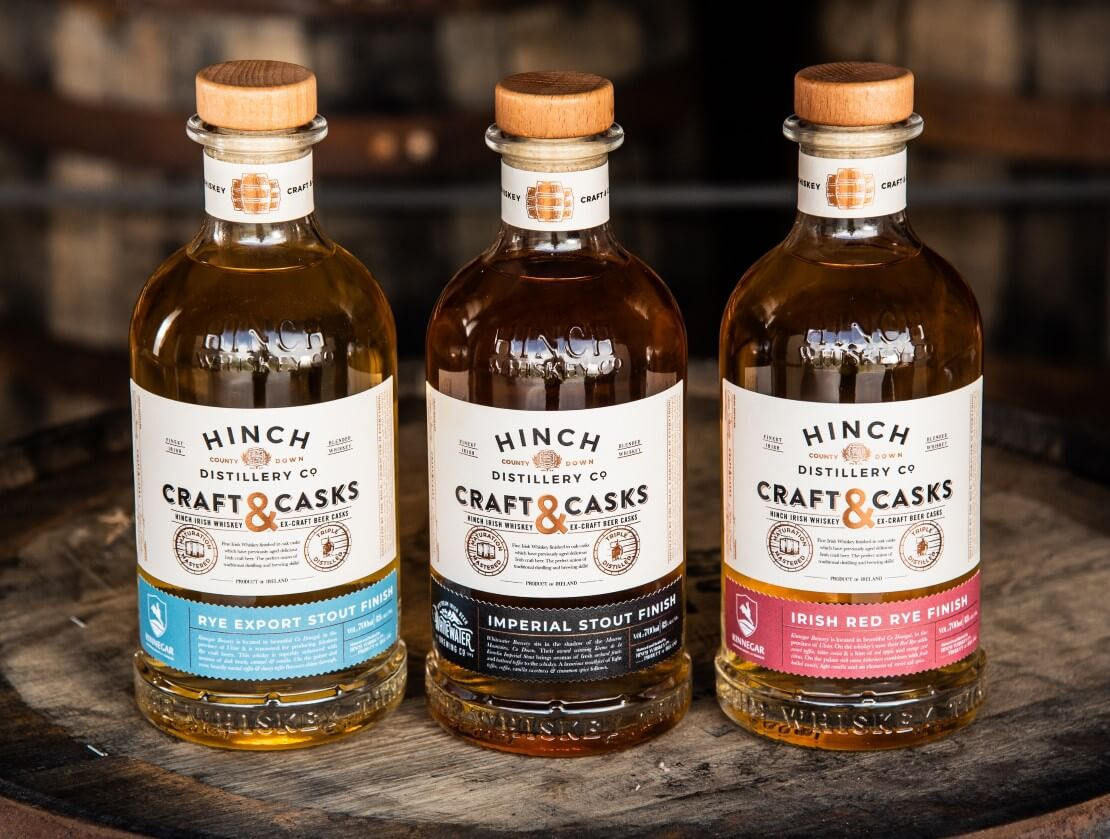Hinch distillery launches new Craft & Casks range