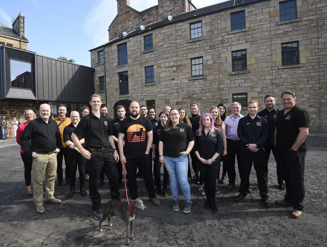 The Holyrood Distillery team.