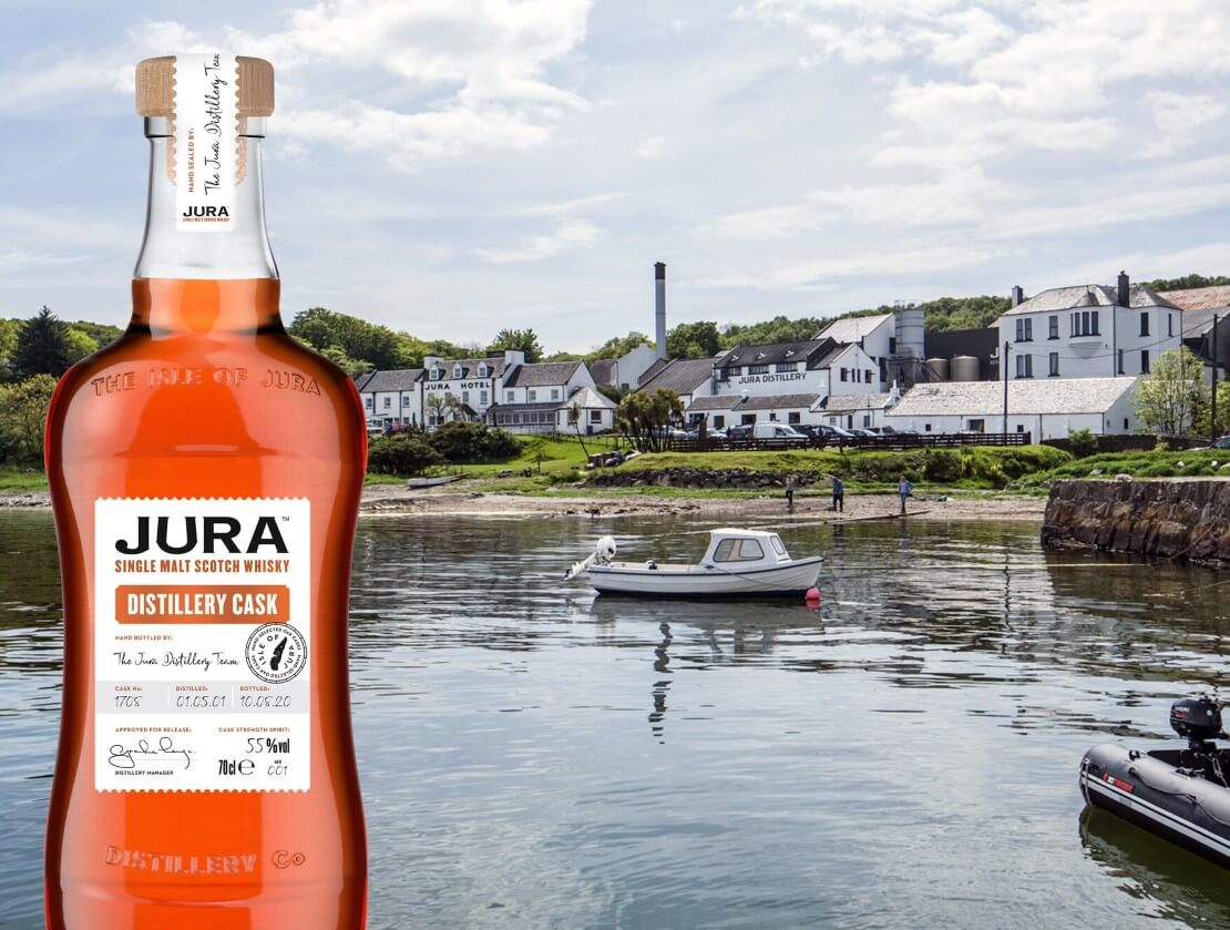 Jura auctions exclusive bottling for mental health charity
