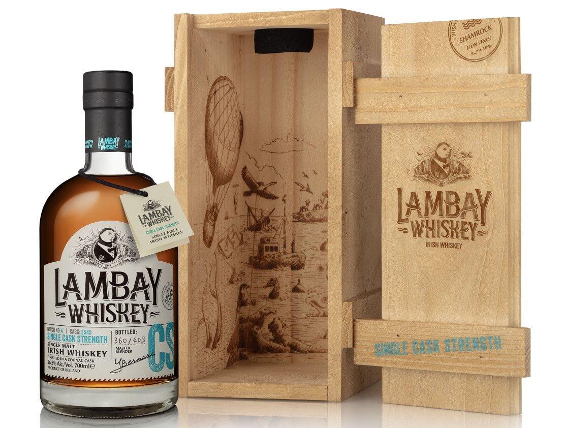 Lambay Whiskey releases Single Cask Strength, Batch 4 Cask 2545