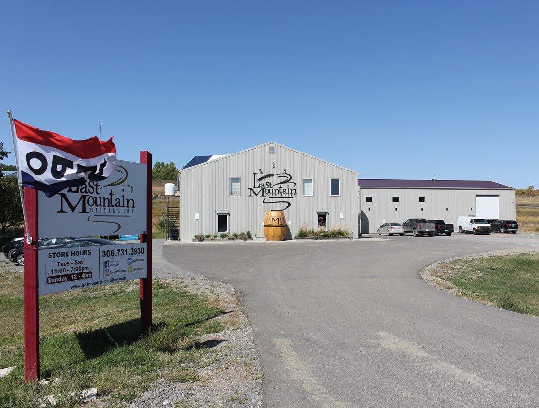 The Last Mountain Distillery