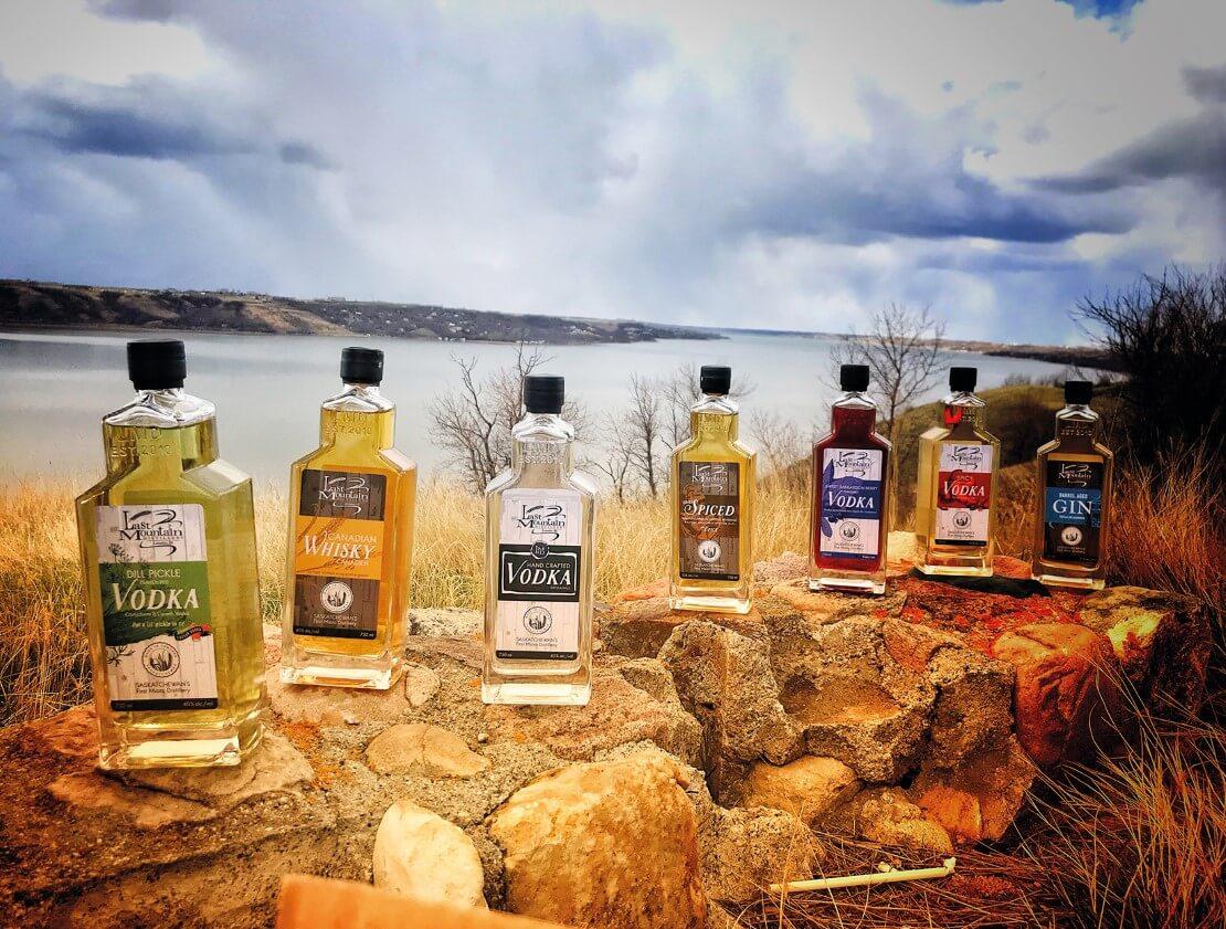 The full Last Mountain range of spirits