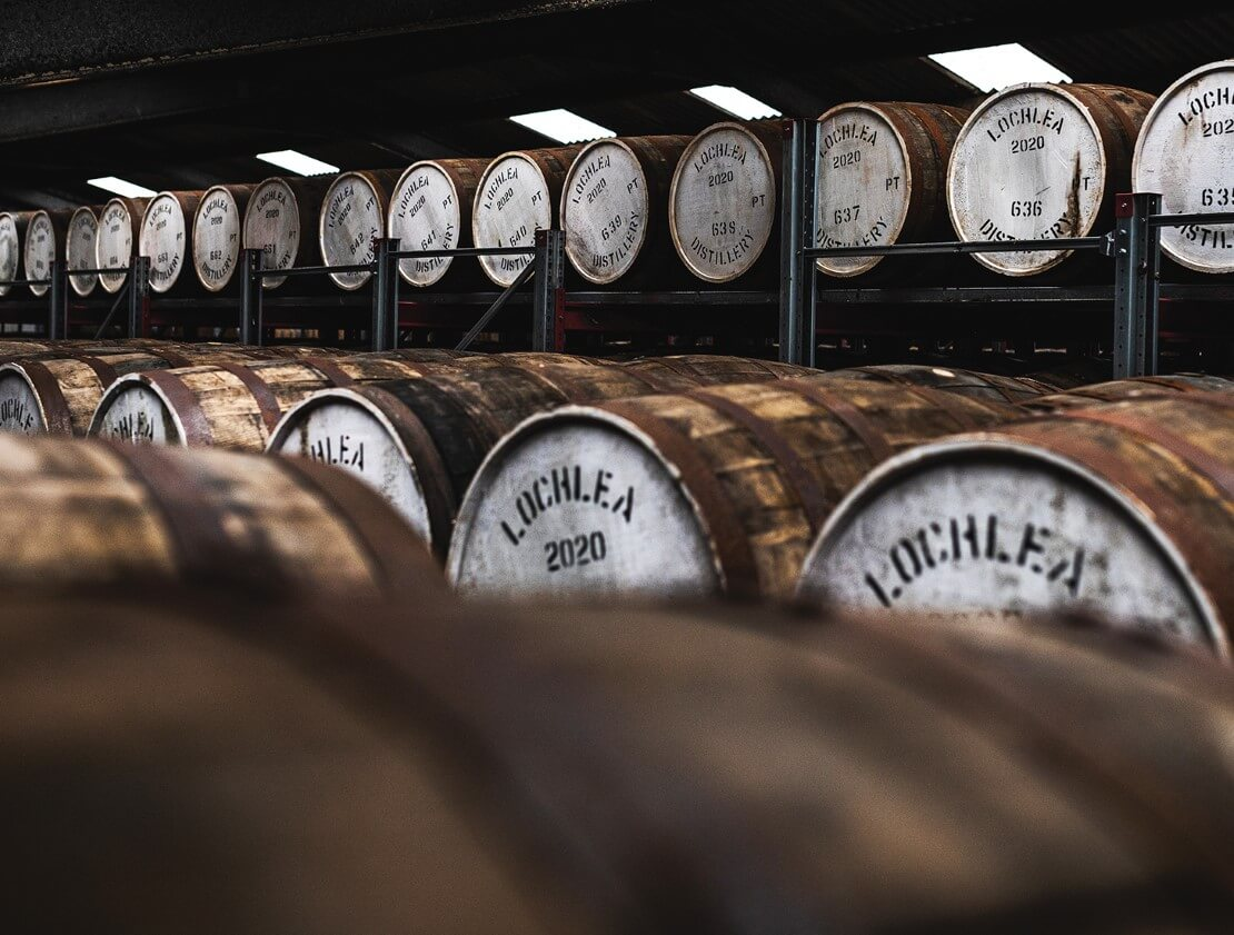 Lochlea Distillery comes out of the shadows