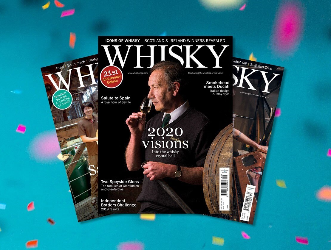 21 BOTTLES OF 21-YEAR-OLD WHISKY TO BE WON!