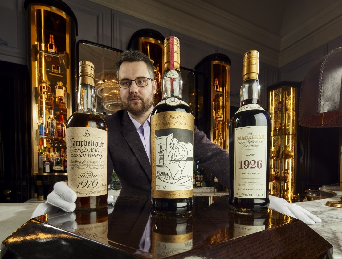 Massive whisky collection to be auctioned