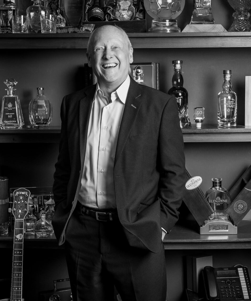 Raymond Davidson, the innovator behind the Glencairn glass