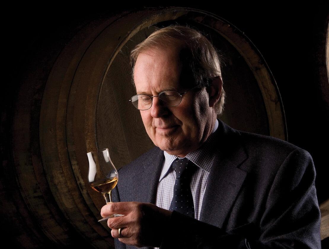 The Balvenie Malt Master David Stewart with whisky