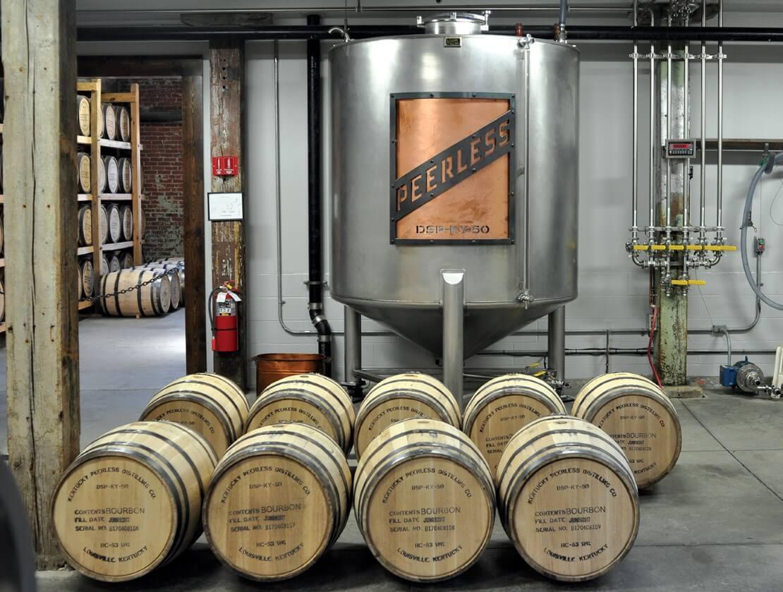 Craft Kentucky-style at Peerless Distillery