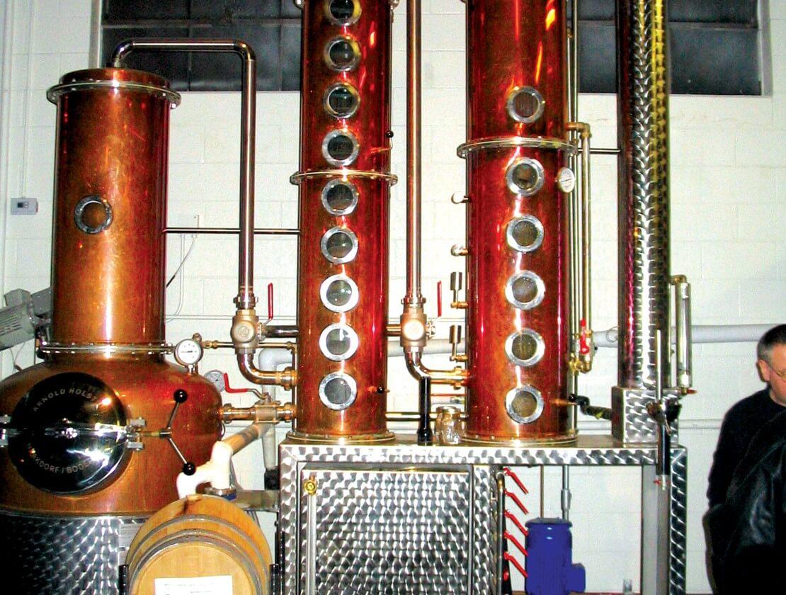 The distiller's view