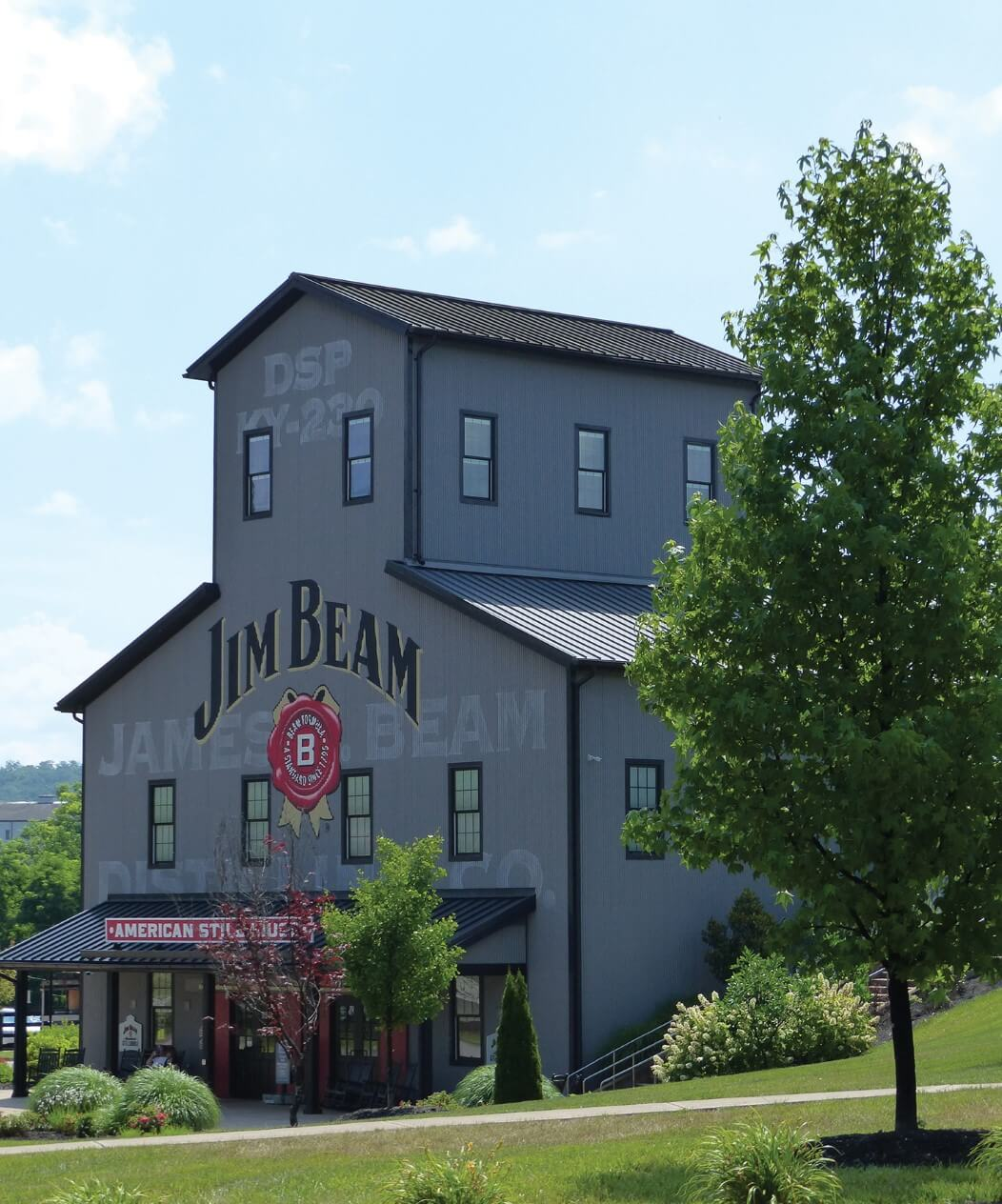 The Jim Beam still house