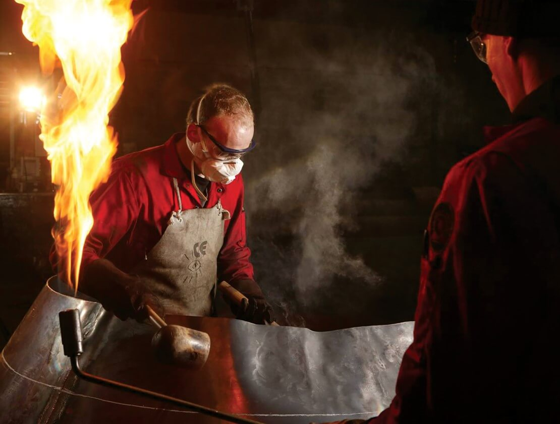 Shaping Copper