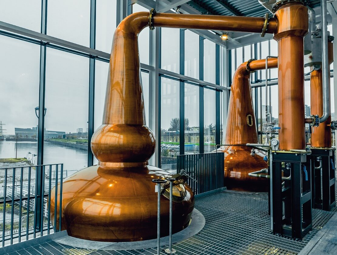 The still house at Clydeside Distillery