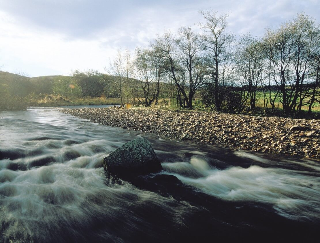 The mighty River Spey