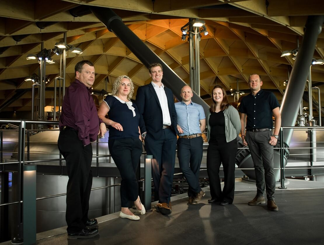 The whisky making team behind The Macallan Distillery