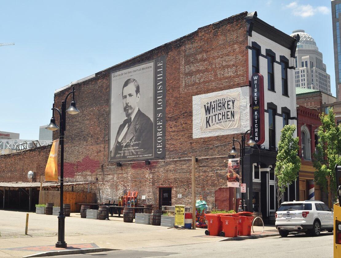 Part of historic Main Street in Louisville