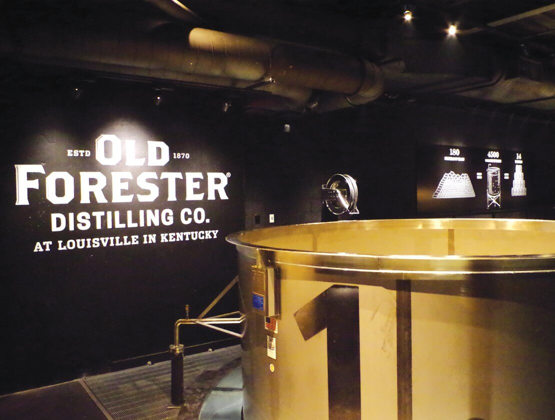The fermenter at Old Forester