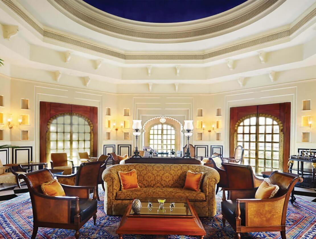 The Bar at The Oberoi Udaivilas, Udaipur