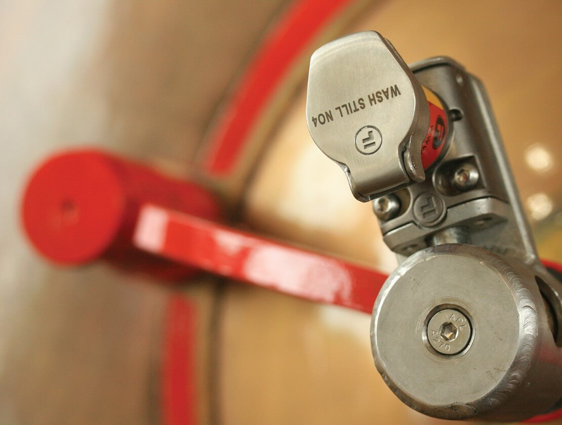 A detailed close up of wash still No.4
