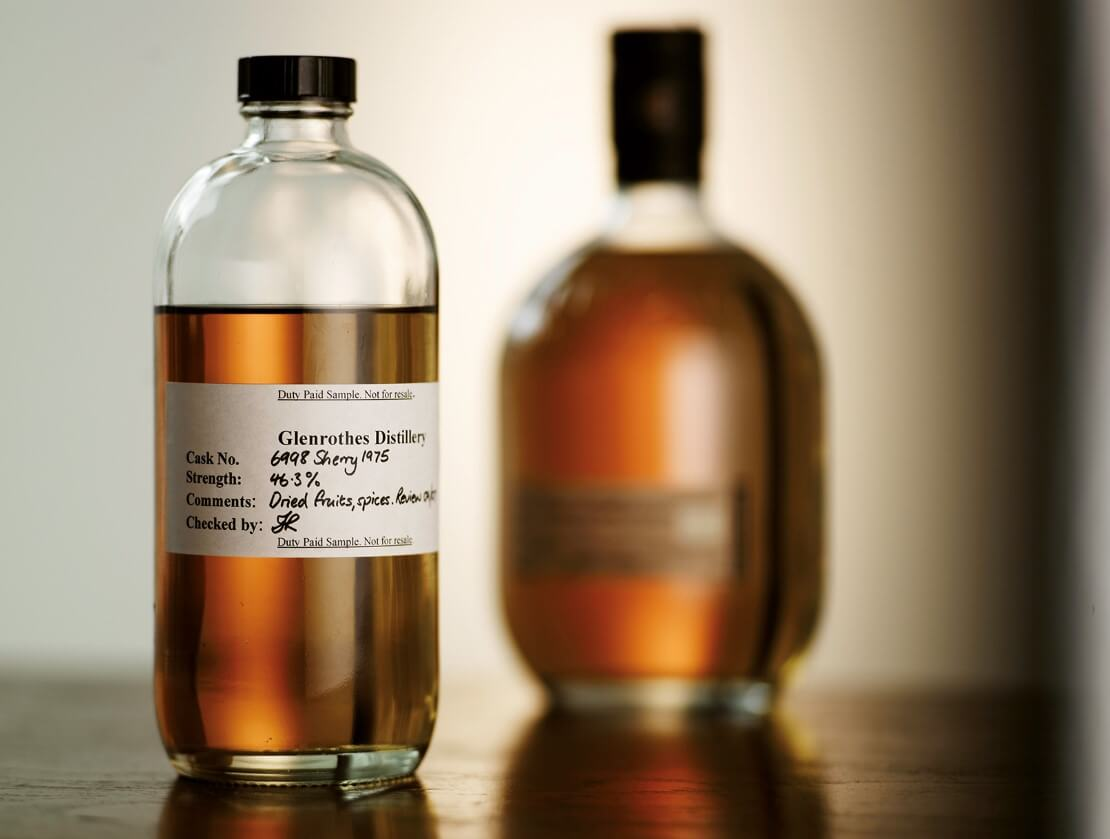 A cask strength sample from Glenrothes