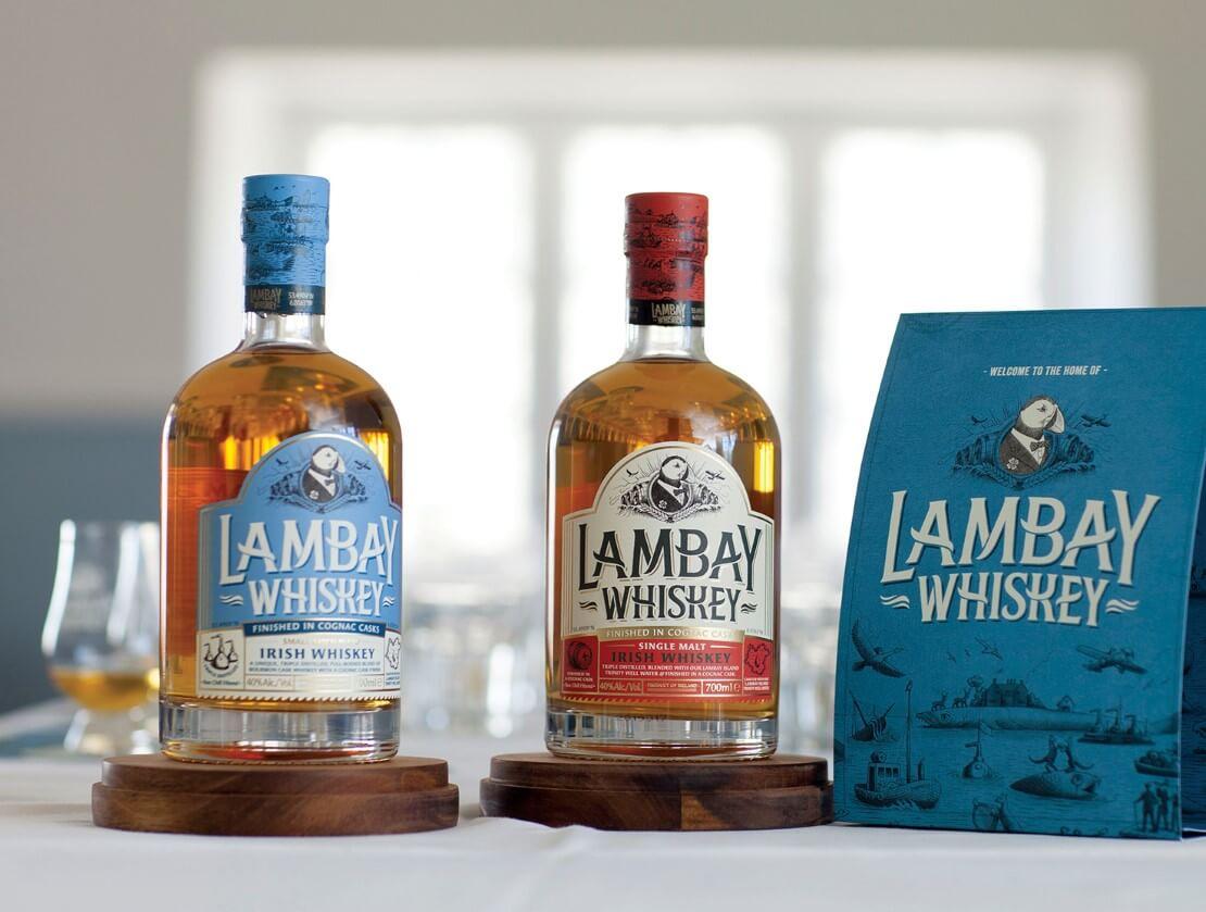 The Lambay whiskeys
