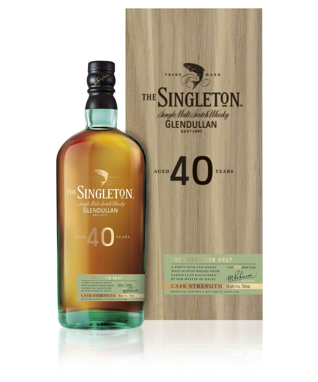 The Singleton of Glendullan, 40 Years Old