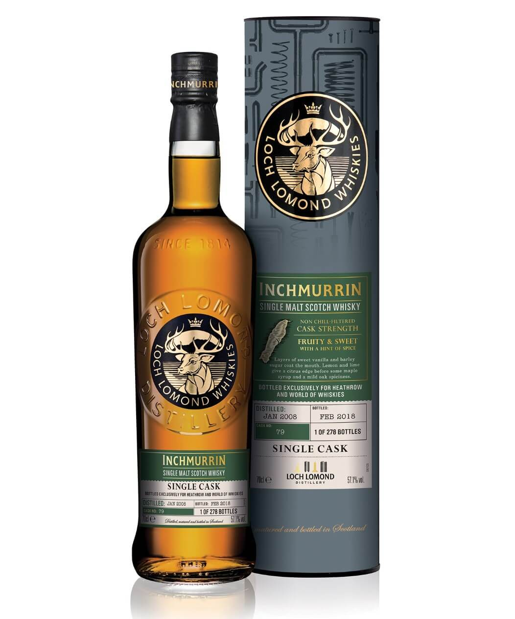 Loch Lomond Inchmurrin Single Cask