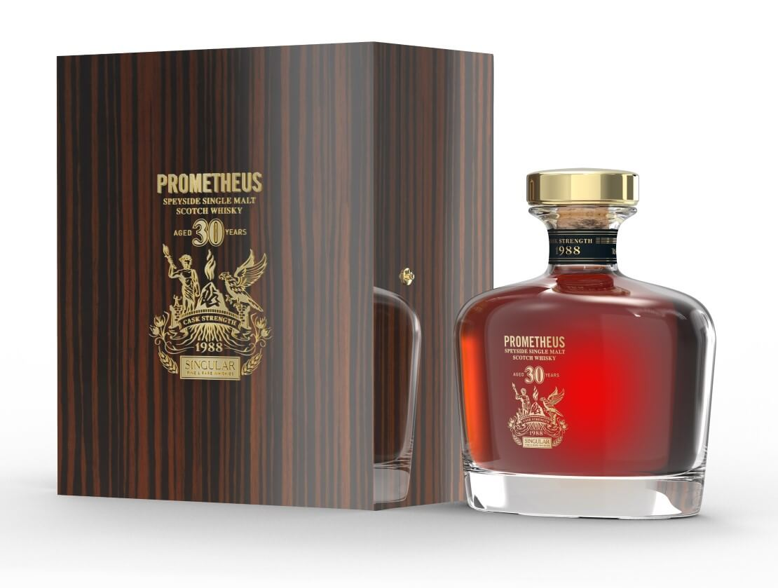 Prometheus 30 Years Old, from the Glasgow Distillery Company.