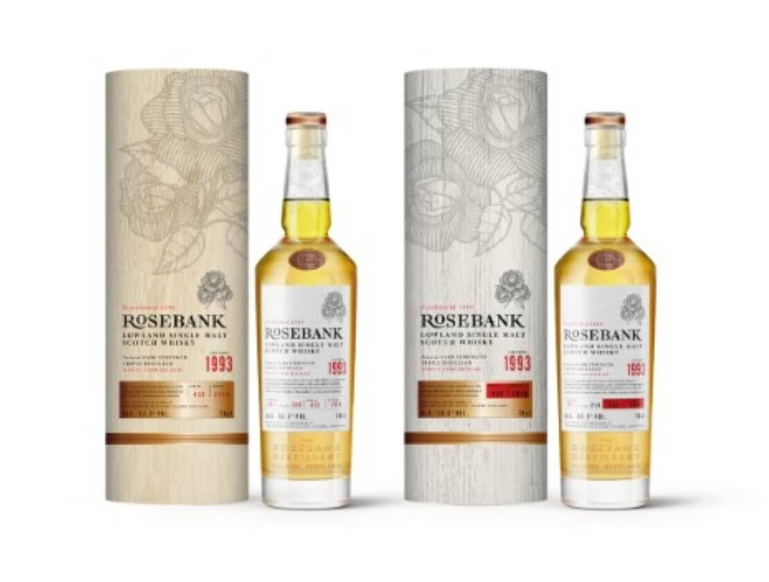 New releases from Rosebank dating back to distillery's closure