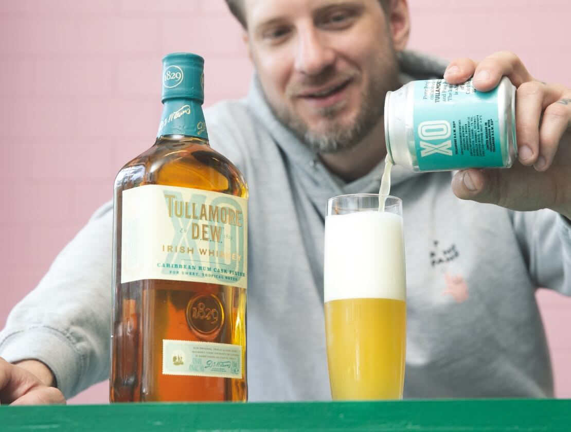 Tullamore D.E.W. and PangPang Brewery launch special brew