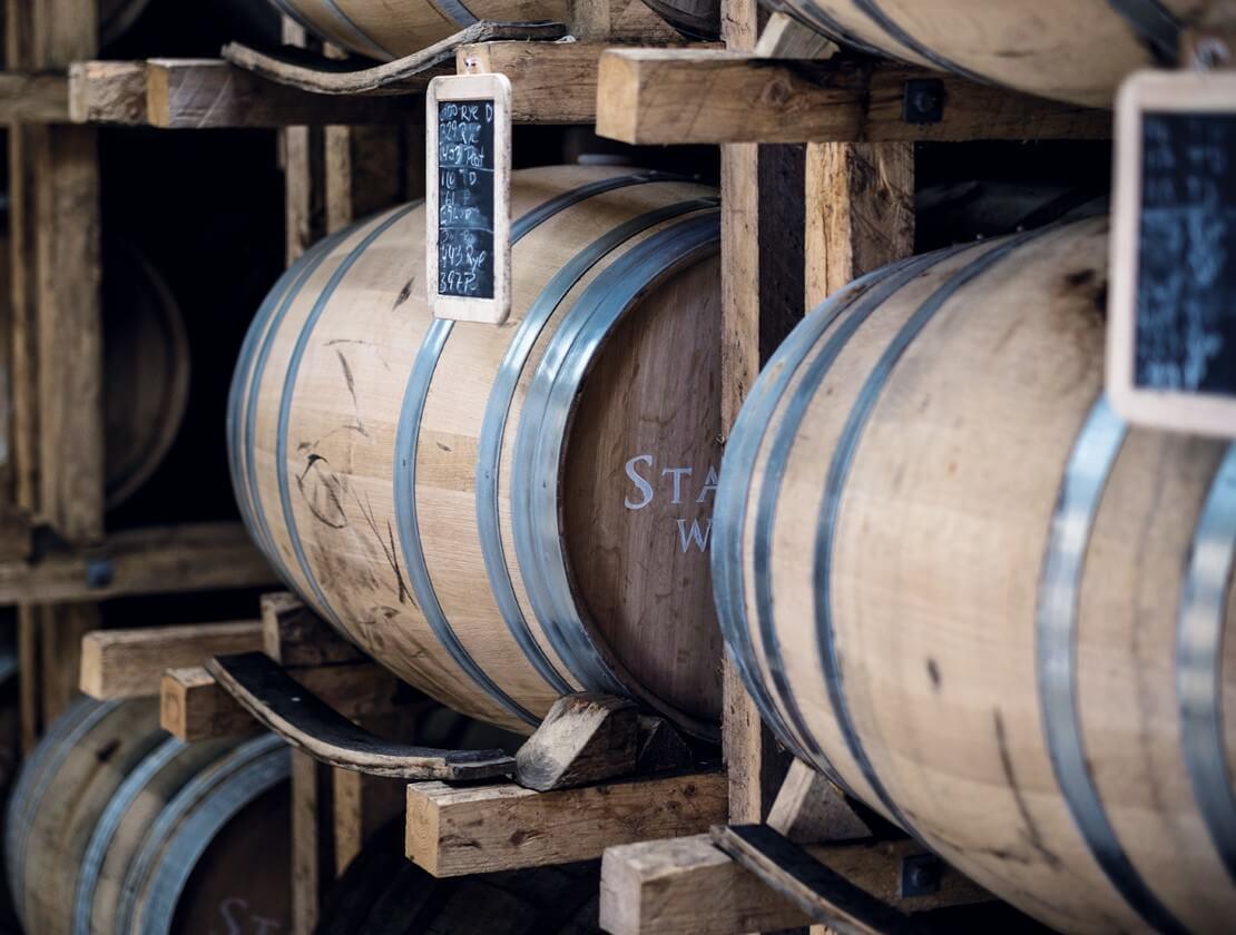 Stauning whisky casks