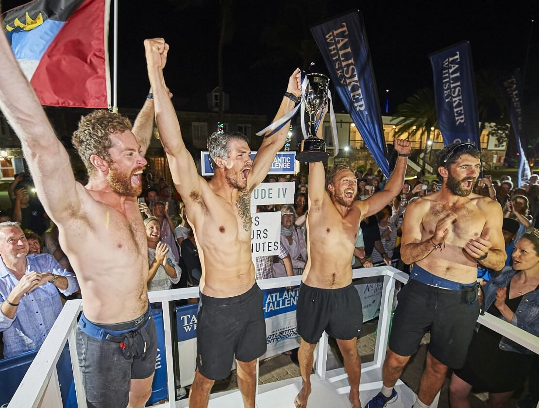 Winning team announced in whisky rowing challenge