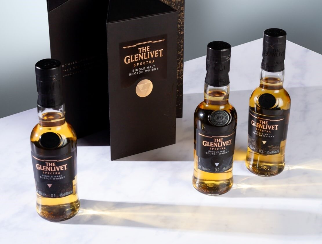 The Glenlivet unveils mysterious new Spectra single malts