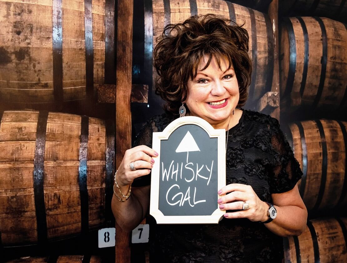 The whisky gal, Tish Harcus