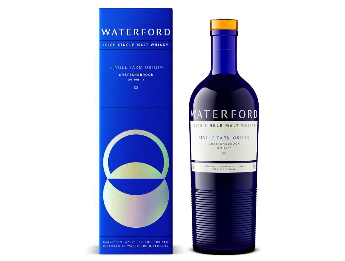 Waterford's Grattansbrook 1.1 whisky