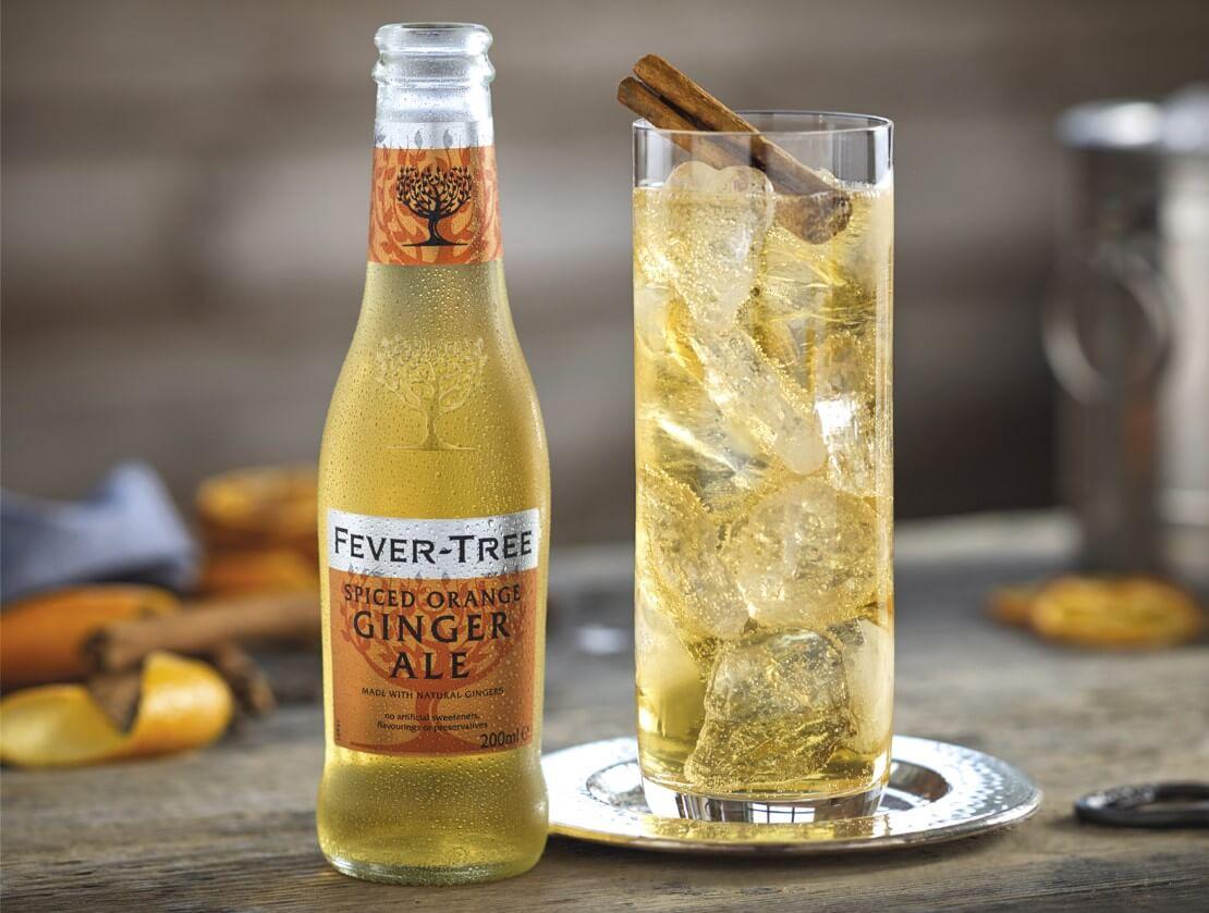 Spiced orange ginger ale