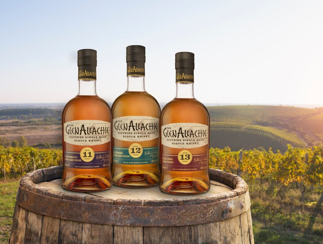 The GlenAllachie releases inaugural Wine Cask Series bottlings