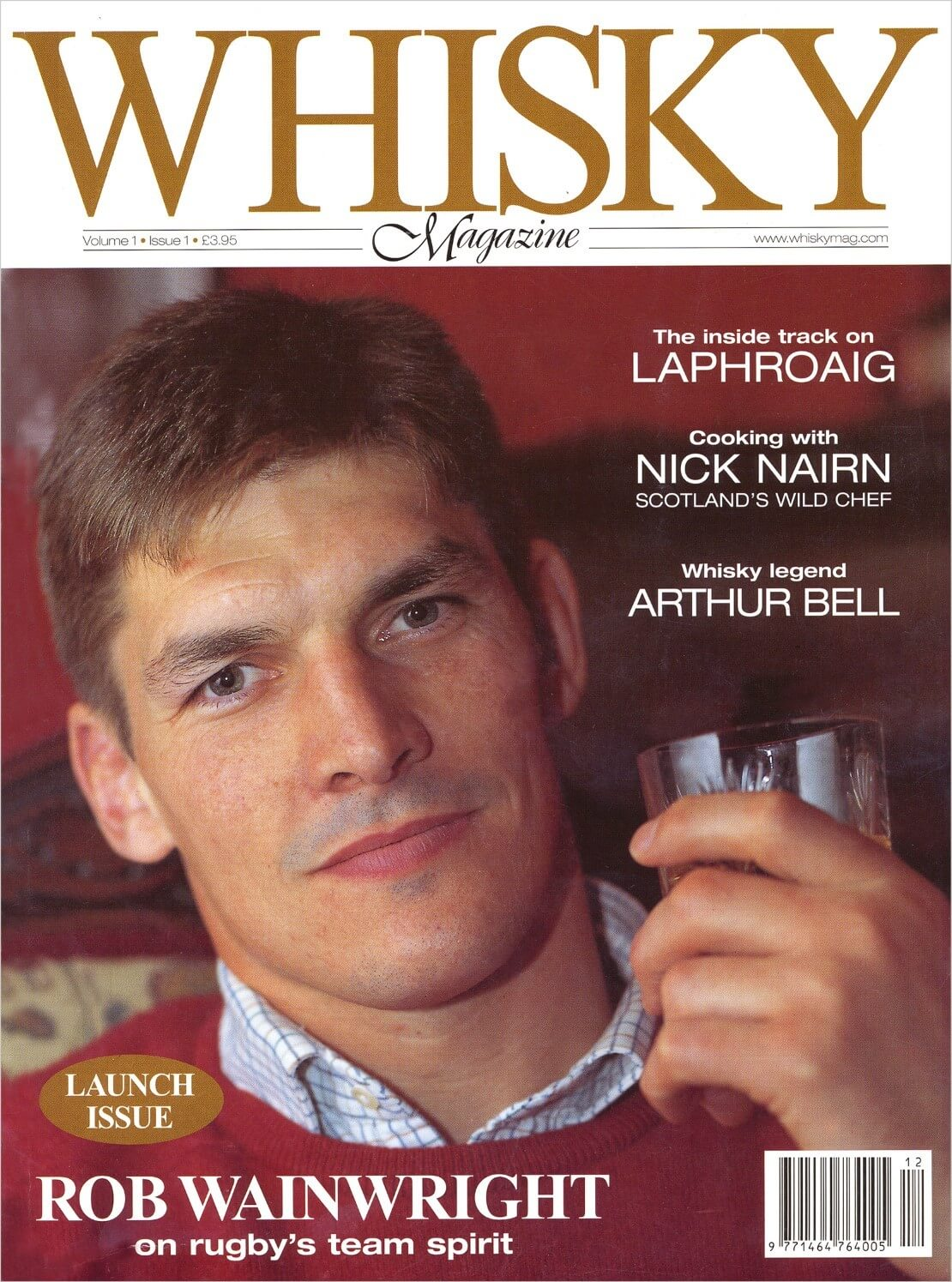 Whisky hero Arthur Bell Laphroaig Cooking with Nick Nairn