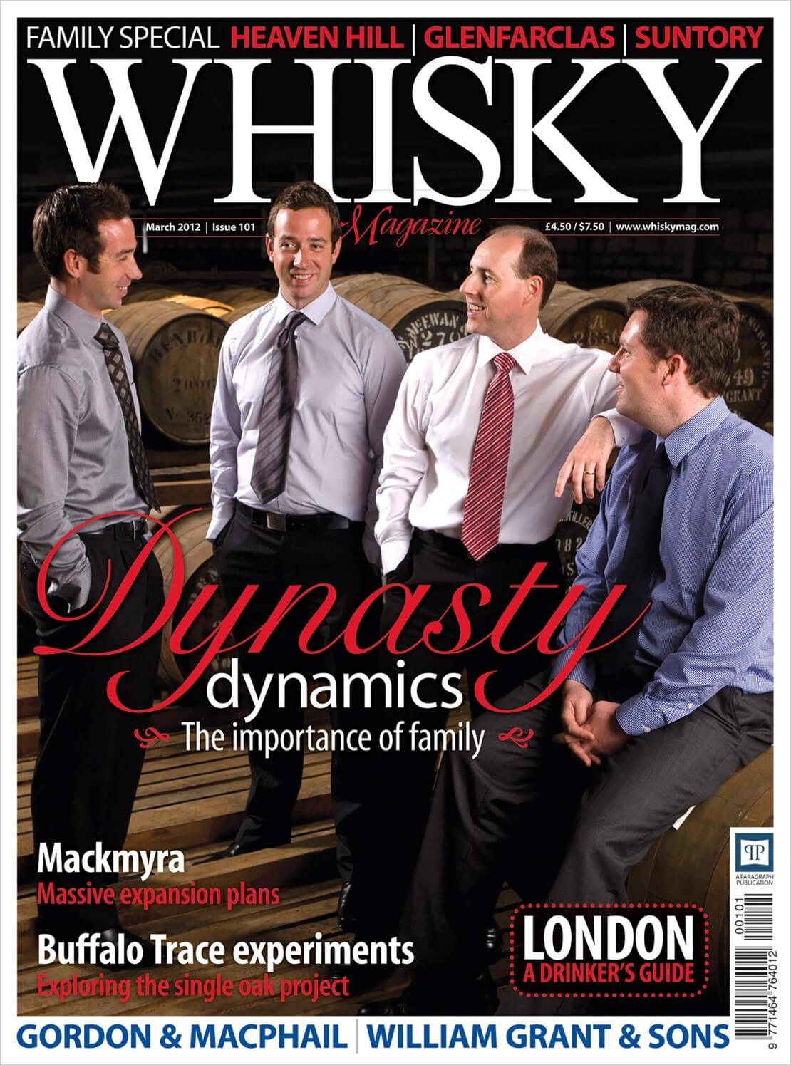 Whisky families Mackmyra Buffalo Trace Drinker's guide to London