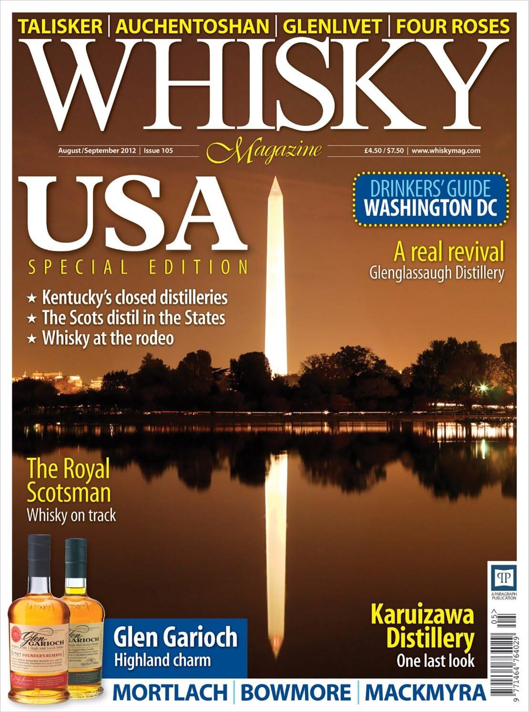 USA Special Edition: Kentucky Mount Vernon Washington DC Rodeo Whisky