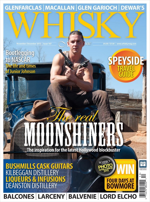Movies & Moonshine Junior Johnson Bushmills Cask Guitars