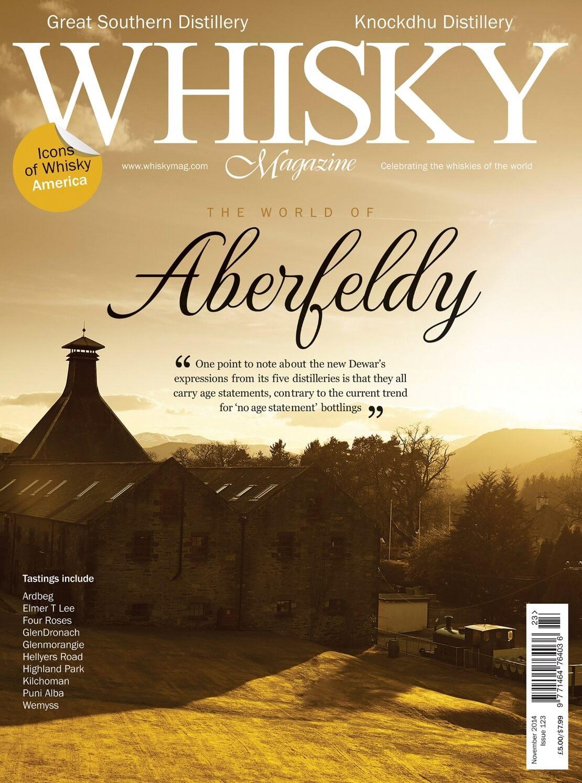Aberfeldy Great Southern Distillery Knockdhu Distillery Icons of Whisky America