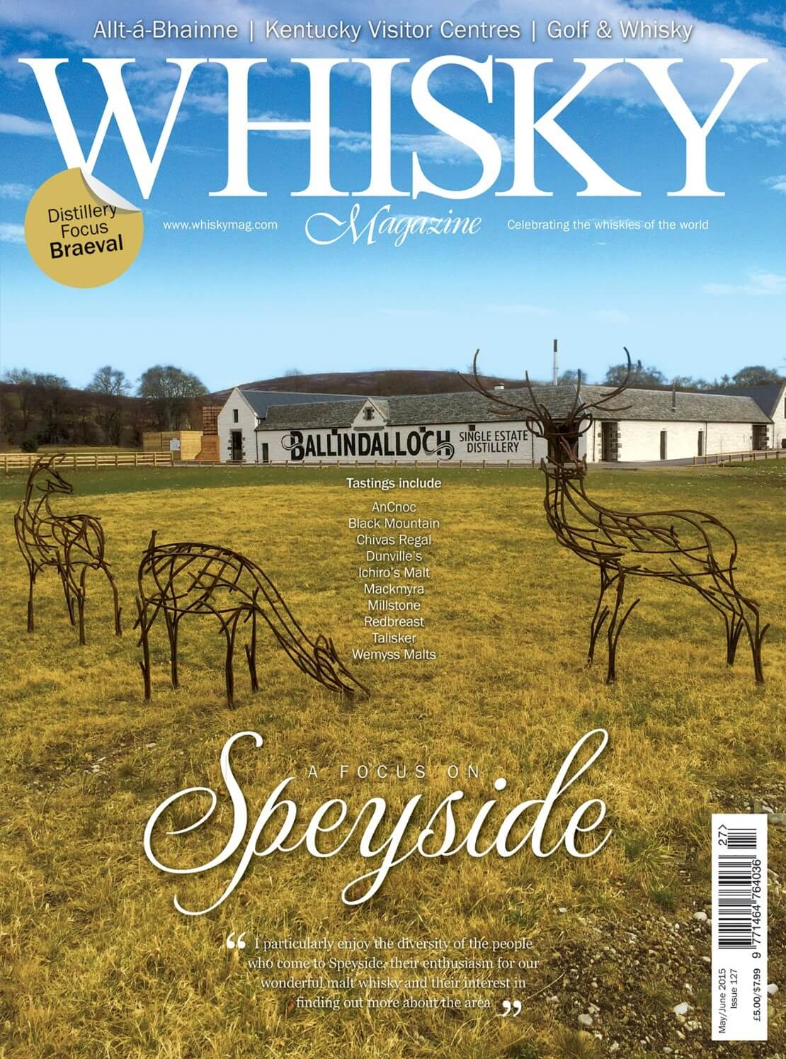 A Focus on Speyside Allt-á-Bhainne Kentucky Visitor Centres Golf and Whisky